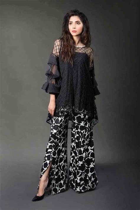 pakistani black dress designs fashioneven