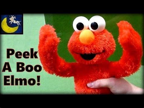 Peek A Boo Elmo Sesame playskool sesame my peek a boo elmo plush