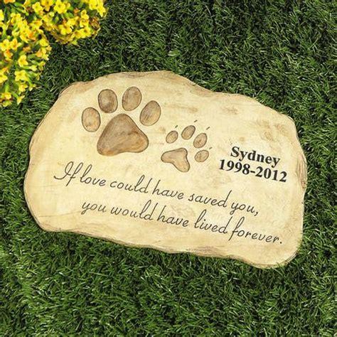 pet memorial stepping stones images  pinterest