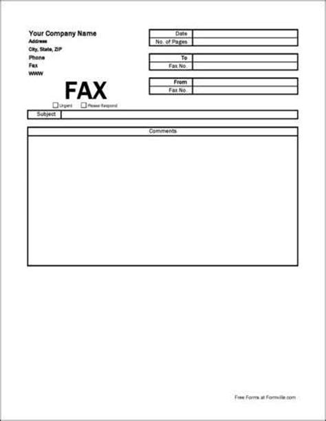 fax cover letter pdf exle basic terms tips youll need free simple company fax cover sheet from formville