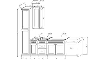 great kitchen cabinet dimensions standard greenvirals style