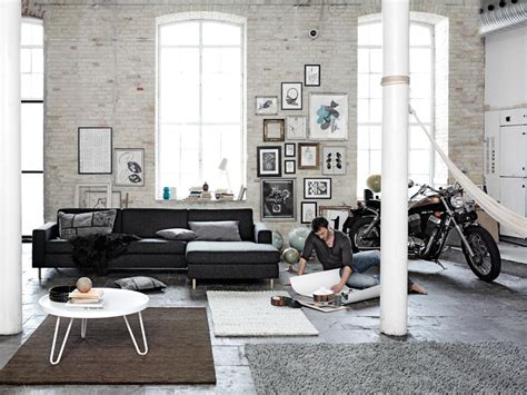 loft living room scandinavian living room design ideas inspiration