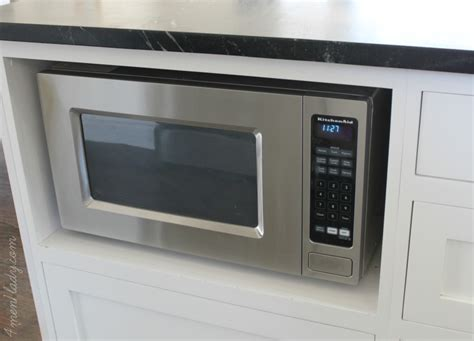 How To Install Cabinet Microwave by Microwave Cabinet Installation Roselawnlutheran
