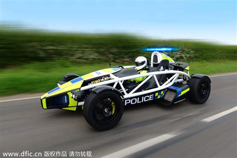 fastest police car world s fastest police car 2 chinadaily com cn