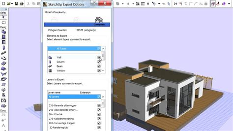 home design 3d how to save saving a sketchup 3d model file from archicad youtube