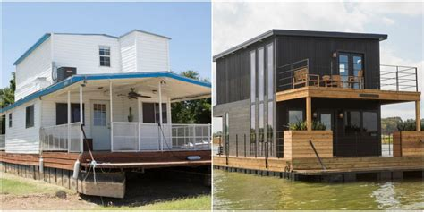 fixer upper houseboat episode joanna and chip gaines gave this houseboat an unbelievable