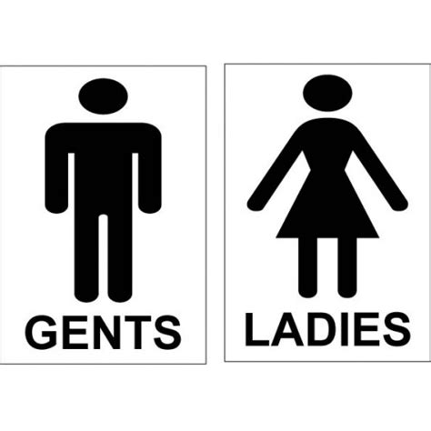 ladies and gents bathroom signs printable right arrow sign memes