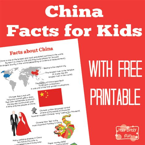 new year facts for preschoolers china facts for kid printables interesting