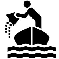 boat sinking icon bailout icons noun project