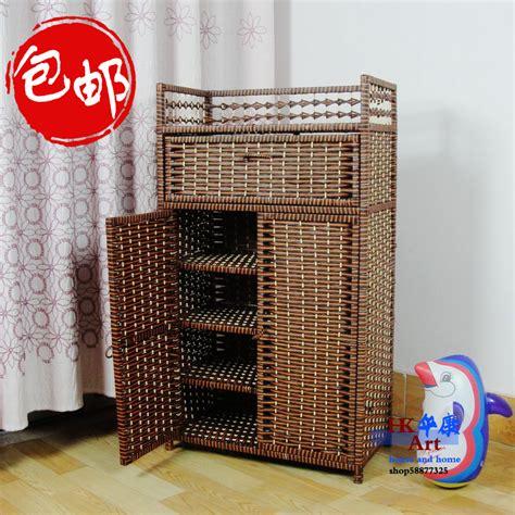multi drawer cabinet ikea ikea pastoral rattan straw shoe lockers shoe storage