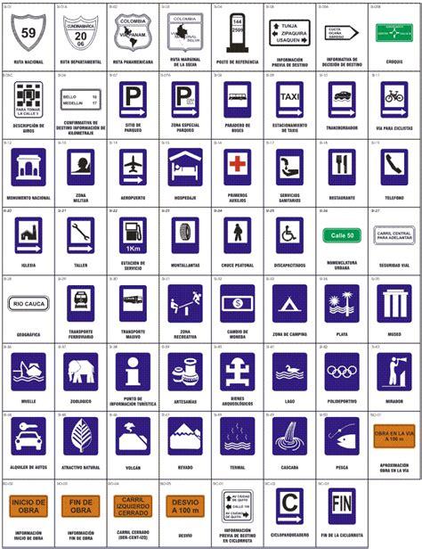 imagenes de señales informativas en ingles 191 conocemos las se 209 ales de tr 193 nsito en colombia