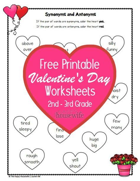 valentines worksheets free printables the happy