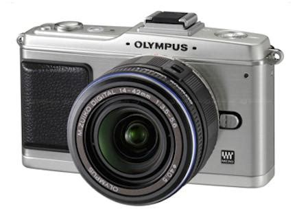 olympus pen ep 2 micro four thirds camera gets silver