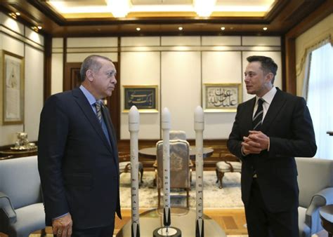 elon musk erdogan tesla and spacex chief elon musk meets erdogan in turkey