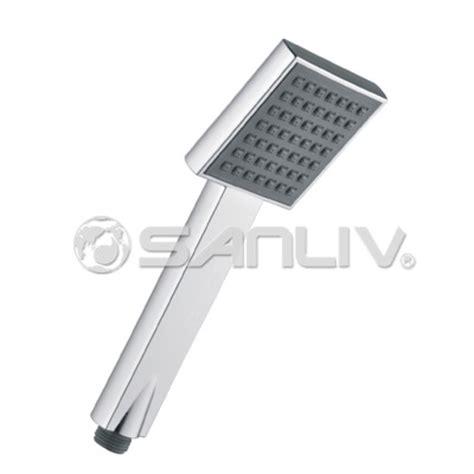 High Flow Handheld Shower by Chrome Square Handheld Shower H803 High Pressure
