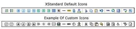 Xstandard Developer S Guide Toolbar Customization Buttons | xstandard developer s guide toolbar customization buttons