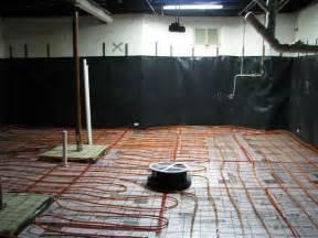basement radiant heat concrete basement floor w radiant heat