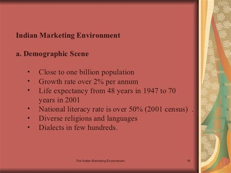 Indian Marketing Environment Mba by The Indian Marketing Environment 1