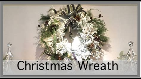 christmas items you tube wreaths decorations how to make a wreath