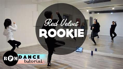 tutorial dance red velvet red velvet quot rookie quot dance tutorial pre chorus first