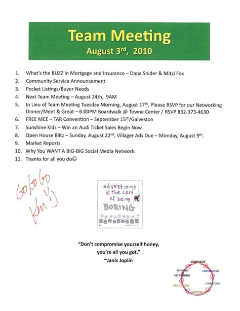 sle templates for meeting agendas real estate sales meeting agenda prudential gary greene