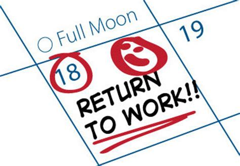 Mba Schools Returning Work Experience by What Is A Return To Work Program And Is It Right For Your