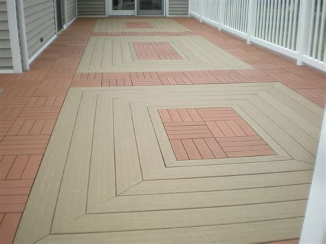 composite patio tiles it s a snap ecoshield tm deck tiles clip shows