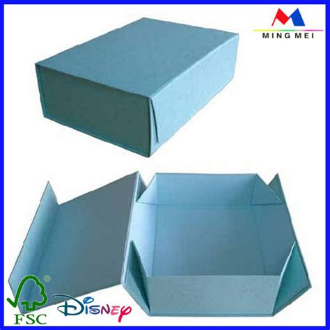 Paper Folding Box Template - wholesale rigid flding box template folding box magnet