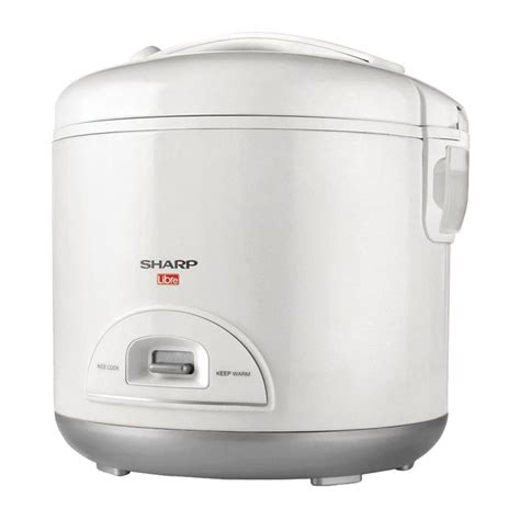 Sharp Ks N18me L Rice Cooker White sharp rice cooker ks m18l w at esquire electronics ltd