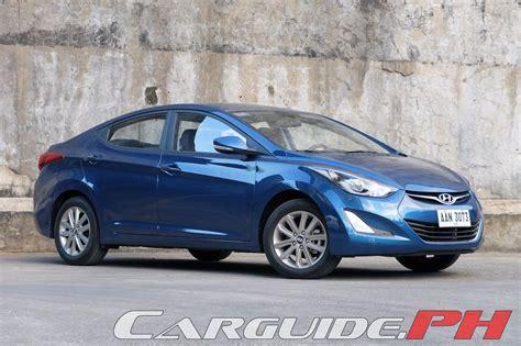 Hyundai Elantra 2015 Review by Review 2015 Hyundai Elantra 1 6 S A T Philippine Car