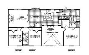 Legacy Mobile Home Floor Plans by Legacy Housing Double Wides Floor Plans