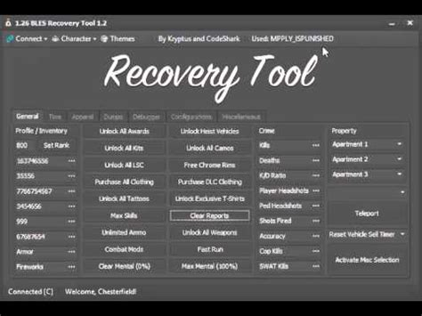 [1.26] gta 5 recovery tool v1.2.1 + download! youtube