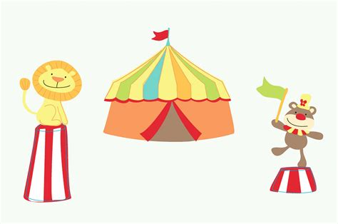 bilder kinderzimmer zirkus funtosee wandsticker wandtattoo mister giggles zirkus