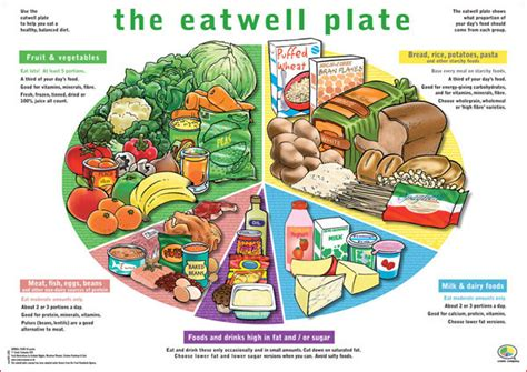 Healthy Section by Healthy Plate The Eatwell Plate Makes Visualising