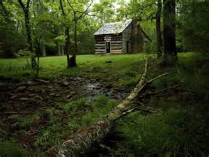 nature shields cabin cades cove great smoky