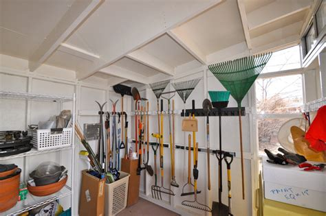 Garden Shed Storage Ideas Storage Garden Shed 10x12 Studio Shed Modern Other Metro By Studio Shed