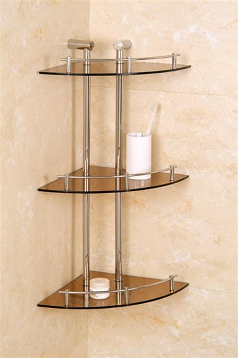 glass bathroom shelving unit glass shelving unit bathroom bathroom decoration plan