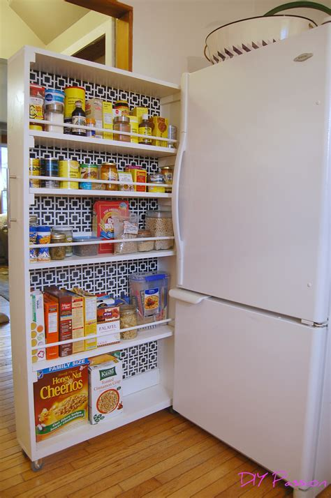 how to make a pantry out of a bookcase diy rolling pantry tutorial diy home improvement