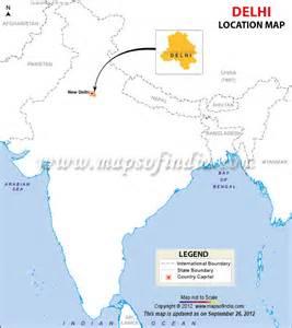 delhi on world map india map delhi
