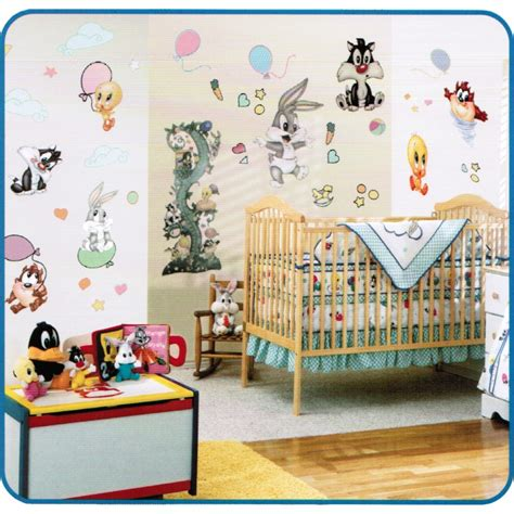 Looney Tunes Nursery Decor Baby Looney Tunes Balloon Jumbo Stick Ups 40236 The 2000 Inc Wholesale