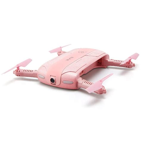 Wifi Selfie Drone jjrc h37 elfie pocket selfie drone pink