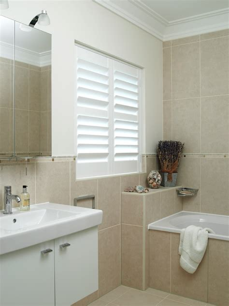 plantation shutters bathroom www imgkid com the image