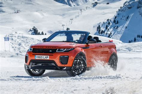 jeep convertible 2017 2017 range rover evoque convertible review
