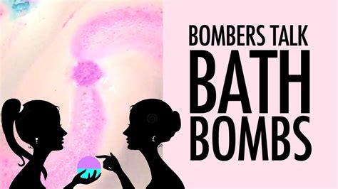 bathroom bomber bombers talk bath bombs behind the scenes youtube