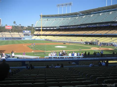 What Is Section 23 by Dodger Stadium Section 23 Rateyourseats