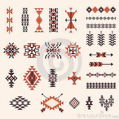 navajo pattern tattoo best 25 aztec patterns ideas on pinterest tribal