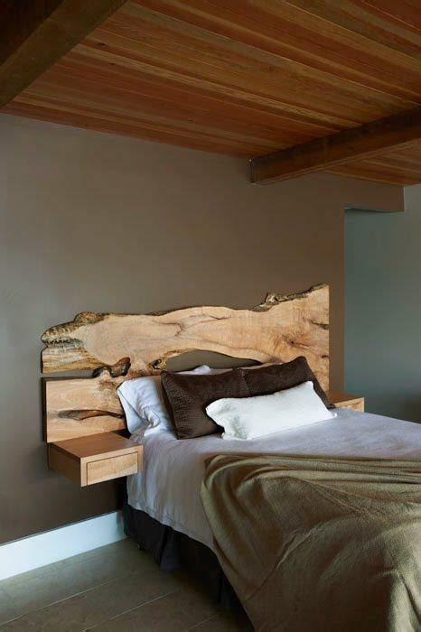 lade da da letto moderne 100 fotos de cabeceros de cama originales de madera de