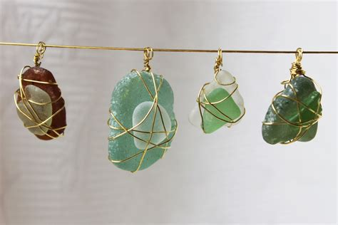 sea glass jewelry how to make a gift for easy sea glass jewelry amsterdam and beyond