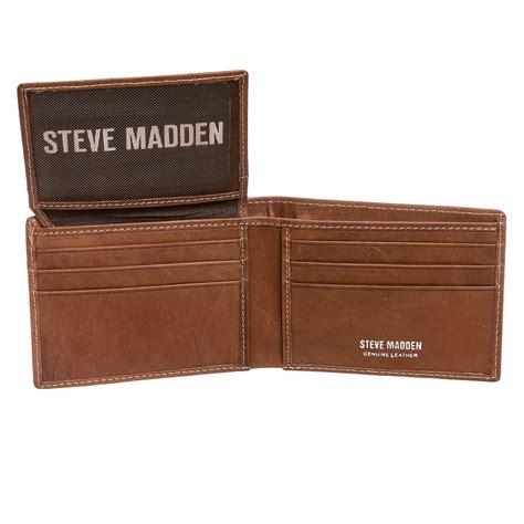 Steve Madden Wallets For by Steve Madden Mens Genuine Leather Antique Passcase Billfold Bifold Wallet