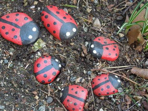 301 Moved Permanently Painted Rocks For Garden